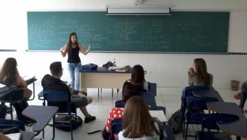 Palestra da aluna Letícia (USP)