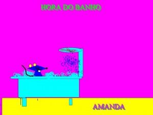 BANHO AMANDA