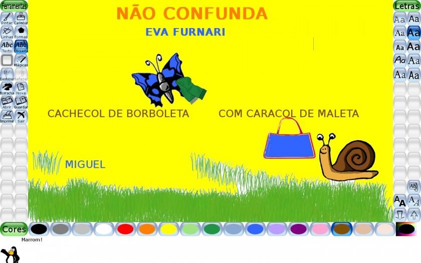 NAO CONFUNDA MIGUEL