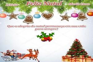 Natal - Maria Clara e Letícia
