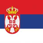 Bandeira Servia