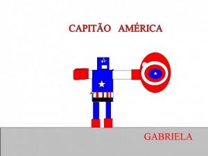 CAPITAO AMERICA GABRIELA