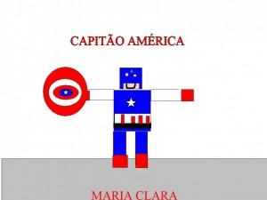 CAPITAO AMERICA MARIA CLARA