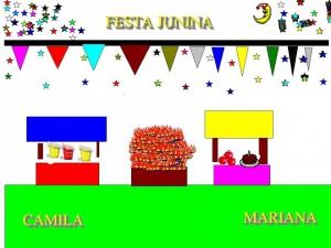 FESTA JUNINA CAMILA E MARIANA