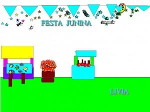 FESTA JUNINA LIVIA
