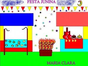 FESTA JUNINA MARIA CLARA