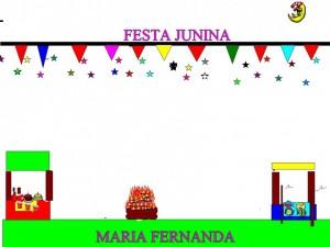 FESTA JUNINA MARIA FERNANDA