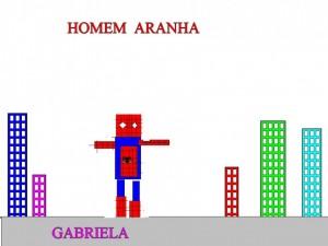 HOMEM ARANHA GABRIELA