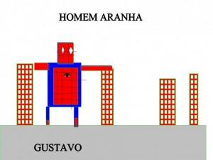 HOMEM ARANHA GUSTAVO