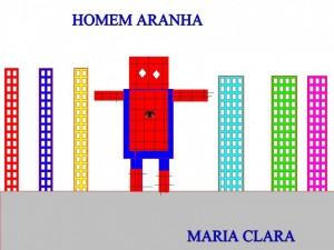 HOMEM ARANHA MARIA CLARA