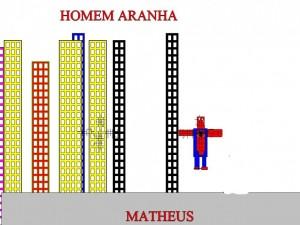 HOMEM ARANHA MATHEUS