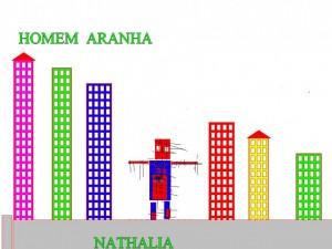 HOMEM ARANHA NATHALIA
