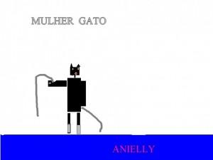 MULHER GATO ANIELLY