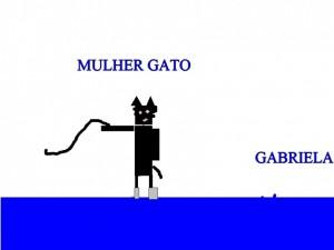 MULHER GATO GABRIELA