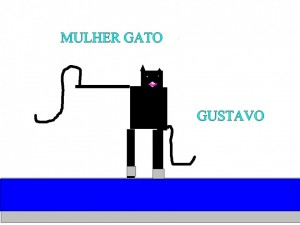 MULHER GATO GUSTAVO