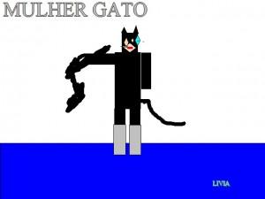 MULHER GATO LIVIA