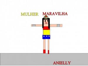 MULHER MARAVILHA - ANIELLY