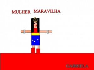 MULHER MARAVILHA - GABRIELA