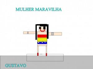 MULHER MARAVILHA - GUSTAVO