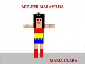MULHER MARAVILHA - MARIA CLARA