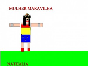 MULHER MARAVILHA - NATHALIA