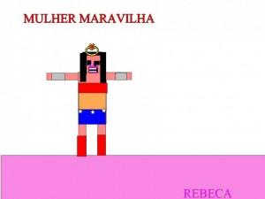 MULHER MARAVILHA - REBECA