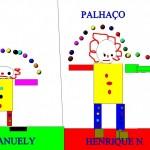 PALHAÇO EMANUELY E HENRIQUE N