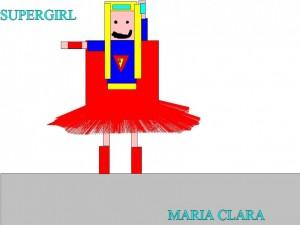 SUPERGIRL MARIA CLARA
