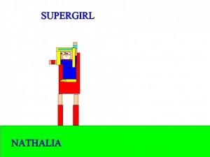 SUPERGIRL NATHALIA